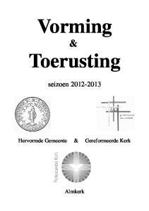 Vorming & Toerusting