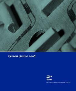 Výroční zpráva Úřad pro ochranu hospodářské soutěže