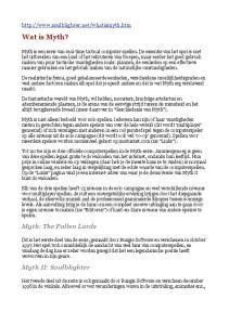 Wat is Myth? Myth: The Fallen Lords. Myth II: Soulblighter