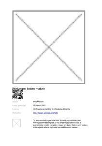 Webquest boten maken. CC Naamsvermelding 3.0 Nederland licentie
