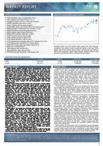 WEEKLY REPORT 05 Jun 2017