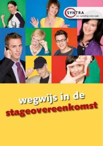 wegwijs in de stageovereenkomst