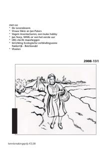 WERKGROEP MILIEUBEHEER GROESBEEK. Verschijningsdatum juni Hoofdpijndossier: bomen en groen in de Groesbeekse bouwplannen door Henny Brinkhof