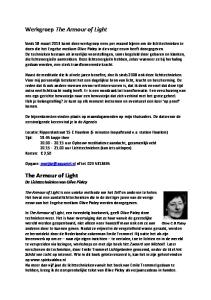 Werkgroep The Armour of Light