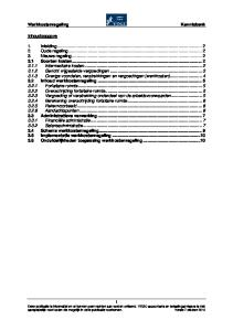 Werkkostenregeling Kennisbank 3.1 Soorten kosten Inhoud werkkostenregeling Administratieve verwerking... 7