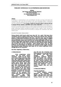 WIDYA CIPTA Vol I No.1 Maret 2010