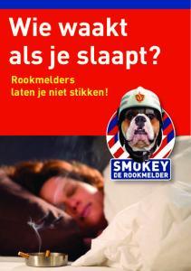 Wie waakt als je slaapt? Rookmelders laten je niet stikken!