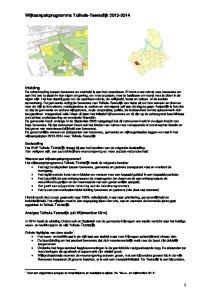 Wijkaanpakprogramma Tolhuis-Teersdijk