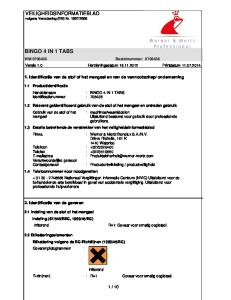WM Bestelnummer: Versie 1.0 Herzieningsdatum Printdatum
