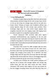 Word to PDF Converter v5.0 Unregistered  I Pendahuluan 1.1 Latar Belakang Masalah Perusahaan merupakan bagian