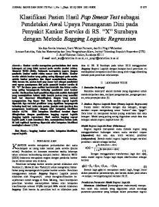 π(x) 1 e JURNAL SAINS DAN SENI ITS Vol. 1, No. 1, (Sept. 2012) ISSN: X D-277