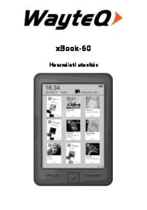 xbook-60 Használati utasítás