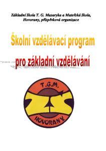 Základní škola T. G. Masaryka a Mateřská škola, Hovorany, příspěvková organizace