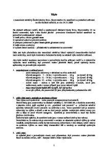 Zápis. z metodické návštěvy Školní jídelny Brno, Heyrovského 32, zaměřené na prošetření stížnosti na toto školské zařízení, ze dne