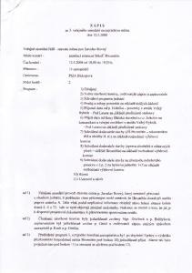 ZAPIS ze 3. veíejného zasedóní zastupitelswa mèsta dne PhDr.Biskupovó