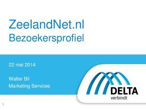ZeelandNet.nl Bezoekersprofiel