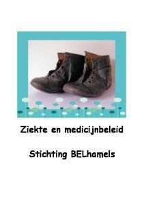 Ziekte en medicijnbeleid Stichting BELhamels