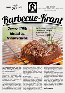 Zomer 2015: Ideaal om te barbecueën!