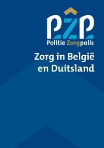 Zorg in België en Duitsland