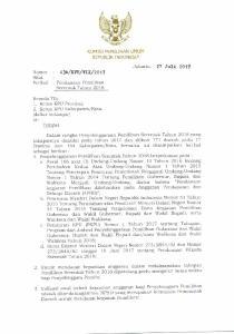 zo'rz Sifat : l. Ketua KPU Provinsi; 44 Tahun Tentang Pengelolaan Dana Kegiatan Pemilihan